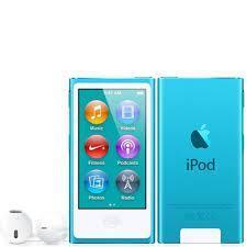 7th Generation 16GB Apple iPod Nano Blue – Very Good , No Retail Packaging!