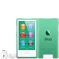7th Generation 16GB Apple iPod Nano Green – Like New in Plain White Box