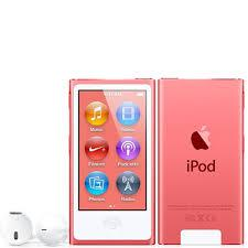 7th Generation 16GB Apple iPod Nano Pink -Like New in Plain White Box