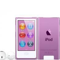7th Generation 16GB Apple iPod Nano Purple, New in Plain White Box