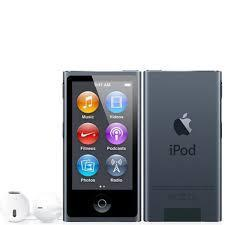 7th Generation 16GB Apple iPod Nano Slate, New in Plain White Box