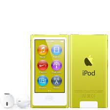 7th Generation 16GB Apple iPod Nano Yellow – Very Good Condition