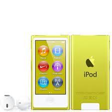 7th Generation 16GB Apple iPod Nano Yellow – New in Plain White Box