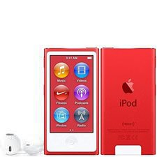 7th Generation 16GB Apple iPod Nano Red , New in Plain White Box