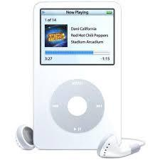 Refurbished Apple iPod Classic 5th Generation 80GB White Like New , No Retail Packaging!