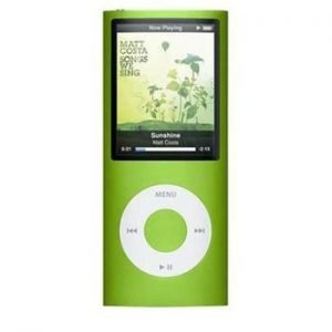 4th Generation Apple iPod Nano Green
