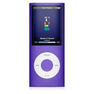 4th Generation Apple iPod Nano Purple