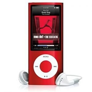 Apple iPod Nano 5th Generation Red