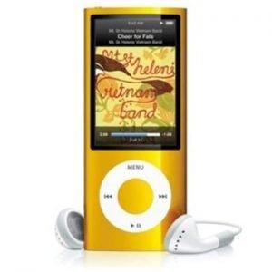 Apple iPod Nano 5th Generation Yellow