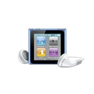 6th Generation Apple iPod Nano Blue
