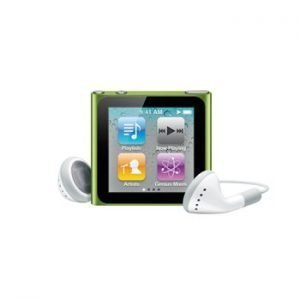 6th Generation Apple iPod Nano Green