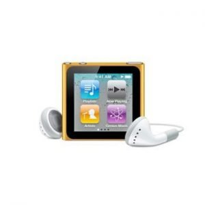 6th Generation Apple iPod Nano Orange