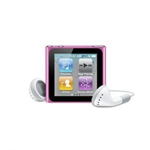 6th Generation Apple iPod Nano Pink