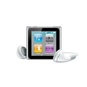 6th Generation Apple iPod Nano Silver