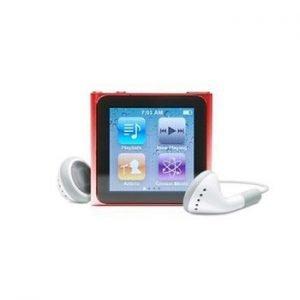 6th Generation Apple iPod Nano Red