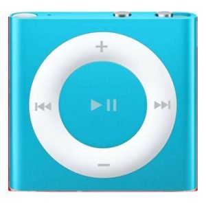 4th Generation 2GB Shuffle Aqua Blue, Like New in Apple Retail Box