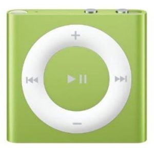 4th Generation 2GB Shuffle Lime Green, Like New in Apple Retail Box